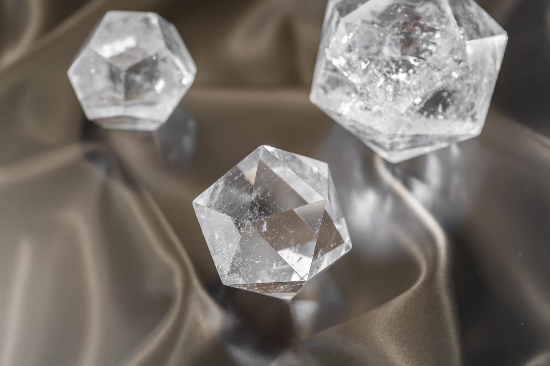 ドクタードルフィン特製 正二十面体 水晶